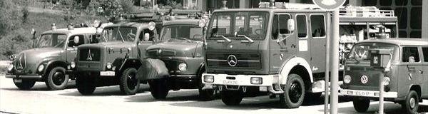 Headline Grafik: Über unsEhemalige Einsatzfahrzeuge