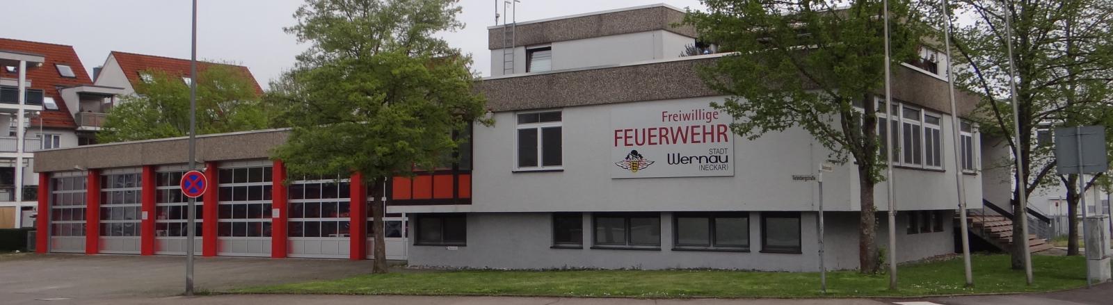 Headline Grafik: Über unsFeuerwehrhaus