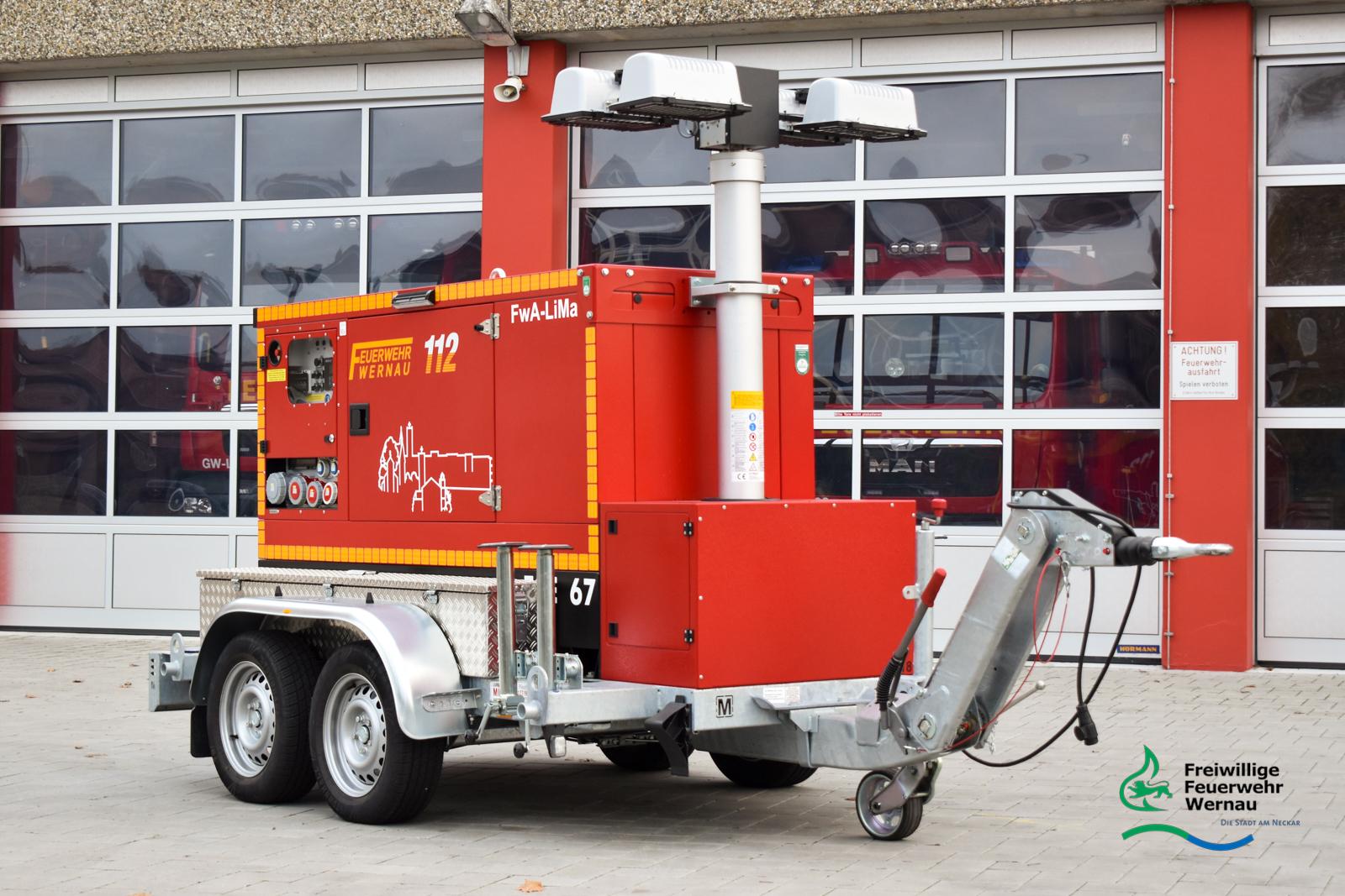 Feuerwehranhänger FwA-LiMa 900/67